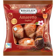 Riegelein Amaretto Chocolate Pinecones 100g