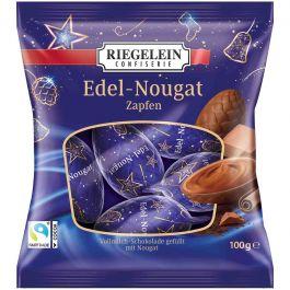 Riegelein Luxury Nougat Chocolate Pinecones 100g