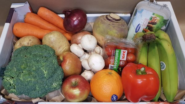 Fruit and Veg Box 2 (Regular Size) With Eggs