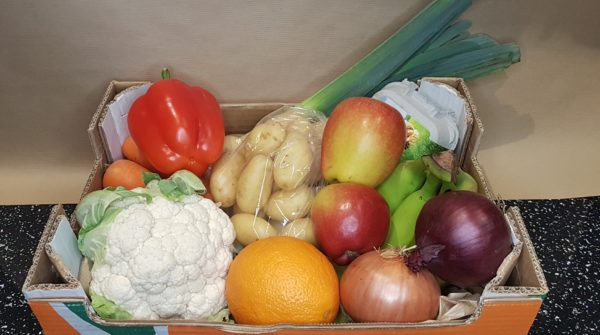Fruit and Veg Box 1 (Regular Size) With Eggs