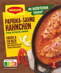 Maggi Paprika Cream Sauce for Chicken 31g