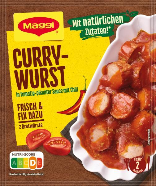 Maggi Currywurst Sauce Mix 40g