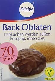 Küchle Back Oblaten 70mm 100er