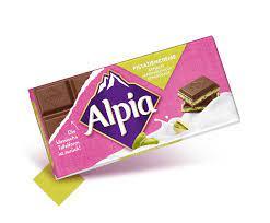 Alipia Chocolate Pistachio Cream Bar 100g
