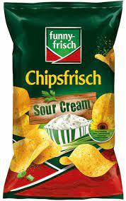 Funny Frisch Sour Cream Crisps 175g
