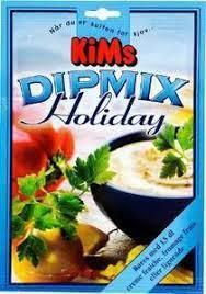KIMs Dipmix Holiday 17g