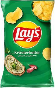Lay's Herb Butter Crisps 175g