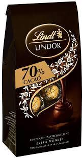 Lindt Lindor 70% Dark Chocolate Truffles 136g